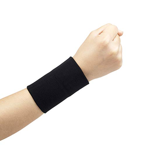 Missoul Wrist Support, Wrist Brace Adjustable Breathable Neoprene with Velcro for Men,Women and Children to Help Relieve Pain from Carpal Tunnel Syndrome Tendonitis and Wrist Pain-1 Pair - Heavy-duty-high-lift