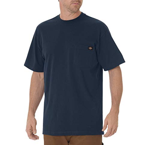 Dickies Herren Pocket Tee S/S T-Shirt, Blau (Dark Navy DN), X-Large (Herstellergröße: XL) -