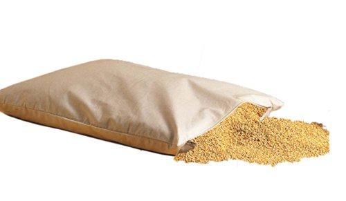Bio Hirsekissen mijo cáscaras almohadas 40x60 cm