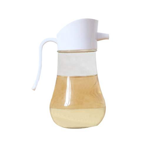 BESTONZON Ölspender Glasflasche zum Kochen Behälter Auslauf Ölspender Flasche Set für Küche Drizzler-set