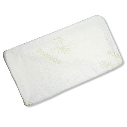 aqua-textil Torrent Viscokissen Bezug 70x36x13 cm Bamboo Kissenbezug Nackenkissen Hülle -