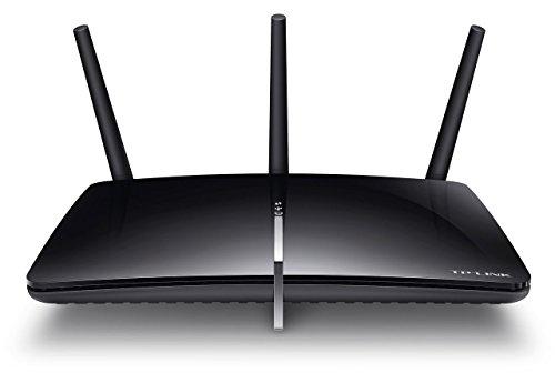 TP-Link Archer D5 Modem Router Wireless ADSL2+, 1200 Mbps, 4 Porte Gigabit Ethernet, 2 Porte USB