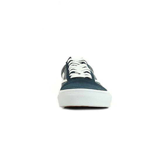 Vans Old Skool, Unisex-Erwachsene Sneakers Bleu Marine