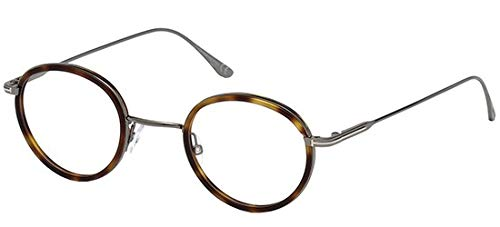 Tom Ford Unisex-Erwachsene FT5521 053 48 Brillengestelle, Braun (Avana BIONDA)