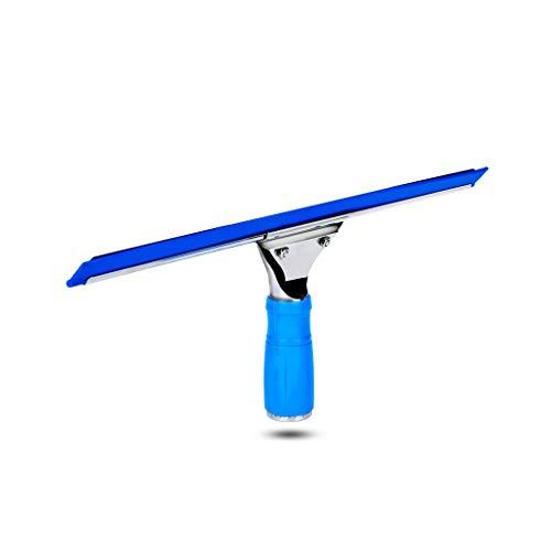 Spatole lava doccia THBEIBEI Acciaio Inossidabile per Tutti Gli Usi Squeegee per la Cucina del Pavimento del Bagno Specchio per la Stanza bagnata Detergente per vetri per vetri per Auto Blu 14 * 35cm