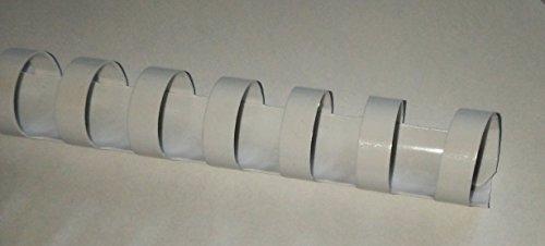 10mm en plastique blanc peigne à reliure 21anneaux A465pages
