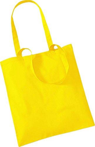 Westford Mill Shopper Handtasche Aufbewahrung Reisetasche Promo Schulter Tasche One Size Gelb - Gelb