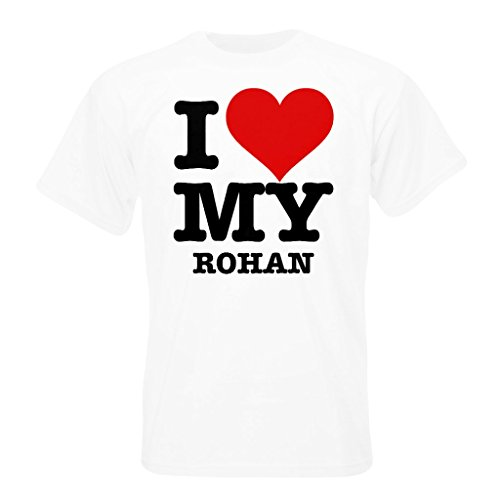 T-Shirt with I LOVE MY ROHAN for sale  Delivered anywhere in Ireland