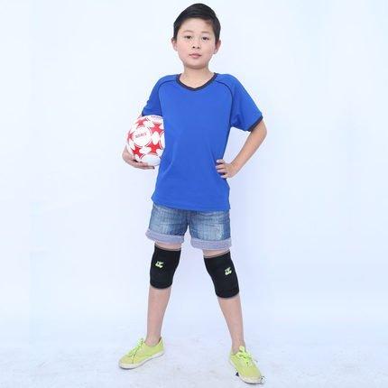 [2] AOLIKES-Ginocchiera da pallavolo in cotone Skateboard danza da sci con bretelle da ciclismo da donna, manica a forma di pallone da calcio, Sport