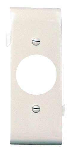 Legrand-Pass & Seymour PJSC7LA Sectional Thermoplastic Wall Plate Junior Jumbo Single Receptacle Center Section, Light, Almond by Legrand-Pass & - Wall Plate Light Almond