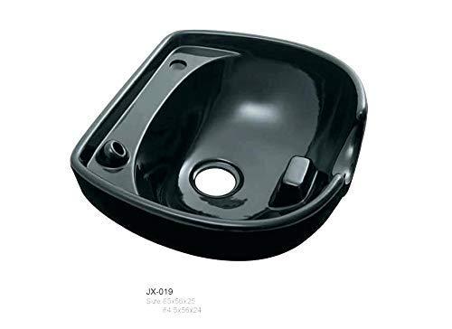 SWEET PEA Portable Height Shampoo Basin Adjustable Hair Treatment Bowl Baber Salon Tool -Black (Only Basin No Stand)