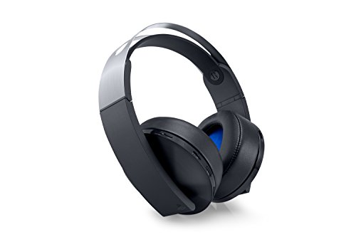 PlayStation 4 Platinum Wireless Headset [Playstation 4] Wireless-stereo-headset