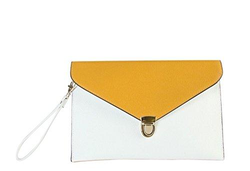 rimen-womens-faux-saffiano-leather-clip-closure-wrist-clutch-handbags-sz-3204-yellow
