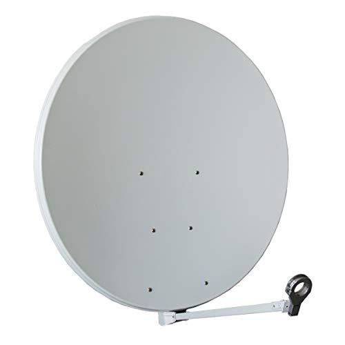 Sat Antenne Gibertini 100 cm Alu Hellgrau XP - Profi - Serie Premium Schüssel Antenne-teller