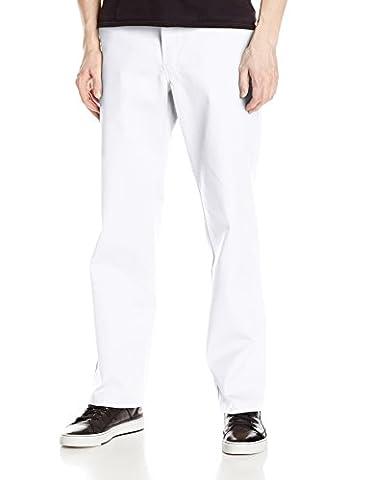 Dickies Herren Sporthose Streetwear Male Pants Original Work, Weiß (White Wh), 32W / 32L