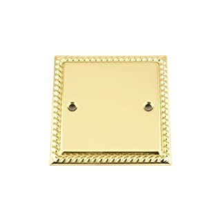 A5 Products BG BP Electrical Blanking Plate, Gold Effect