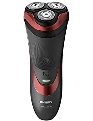 Philips Series 3000 Wet & Dry Men's Electric Shaver with Pop-up Trimmer - S3580/06 (UK 2-Pin Bathroom Plug)