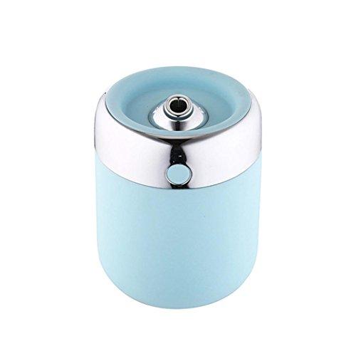 MRULIC 1st Eimer Home Aroma LED Luftbefeuchter Mini Home Lamp Luftbefeuchter Aroma Zerstäuber (blau) (Zen-damen-tasche)