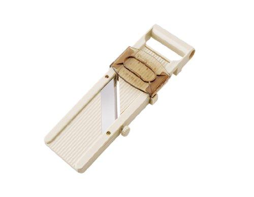 Kitchen Craft Professionelle Japanische Mandoline, mit drei Klingen und Sicherheitsschieber