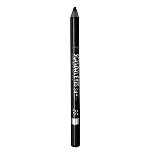Rimmel Scandal'Eyes Waterproof Eyeliner, Black, 1.2 g