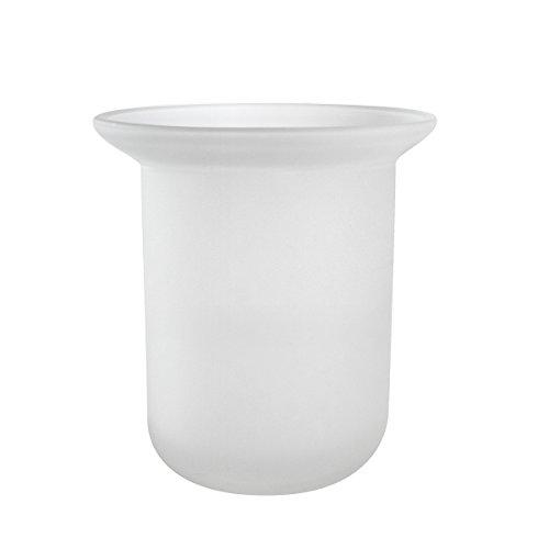Badserie Ambiente - Ersatzglas für WC-Garnitur aus satiniertem Glas