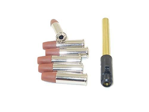 """Umarex Douilles 6mm Python 357 Magnum + Canon supplementaire 6"""" (x6) Adulte Unisexe, Laiton, Taille Unique"""