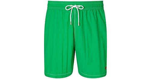 Hackett - Bañador, Solid Volley B, Niño, Color: Verde, Talla: 12