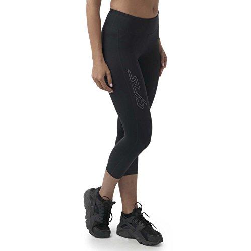 Sub Sports Leggings 3/4 Donna A Compressione Dual 2.0 - Nero - XL