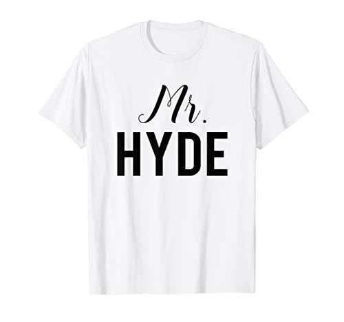 Dr. Jekyll und Mr. Hyde - Paar T-Shirt - Best Friends Tshirt