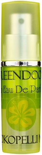 Greendoor Eau de Parfum EdP Kokopelli N°1 aus Bio Alkohol, Natur Parfüm für Damen aus der Naturkosmetik Manufaktur, fülliges Blumen-Bouquet, Taschenzerstäuber mit Vaporisateur, natürlicher Damenduft -
