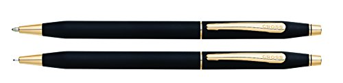 Cross Classic Century Kugelschreiber/Drehbleistift, schwarz