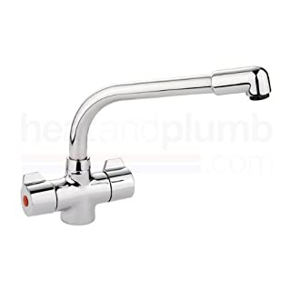 Leisure Aquanomic Aquadisc 2 Mono Kitchen Sink Mixer Tap Chrome