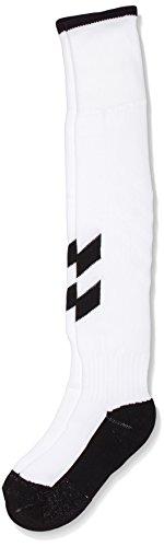 Hummel Kinder Socken Fundamental Football Sock, White/Black, 8, 22-137-9124