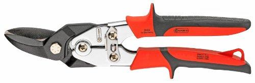 Connex COX243360 Cisaille à tôle coupe à droite, Argent/noir/rouge, 260 mm