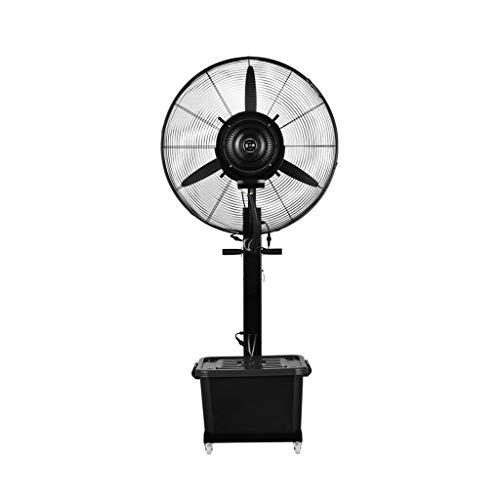 Ventilador nebulizador Exterior terraza Jardin Bar deposito Agua 40 litros/Ventiladores de pedestal/Ventilador...