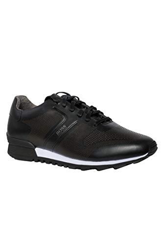 BOSS Parkour_Runn_ltls, Zapatillas para Hombre, Negro (Black 001), 41 EU