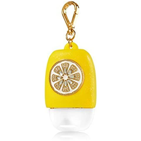 Bath & Body Works PocketBac Hand Gel Holder Lemon Slice by Bath & Body Works