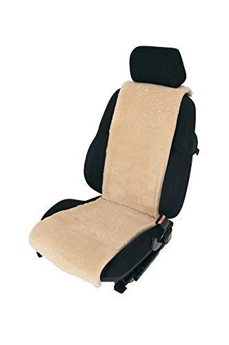 Autositz-Auflage/Autofell aus Lammfell 36cm Breite x 138cm Länge (Sekt) Direkt vom Hersteller