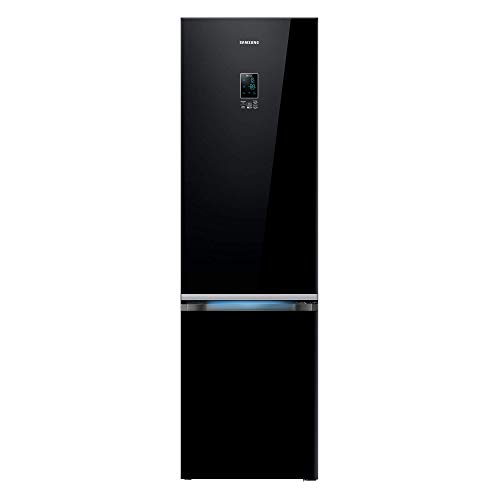 Samsung RB37K63632C/EF Serie 6000 Frigorifero Combinato, 367 L, A++, Black glass