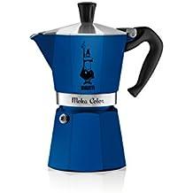 Bialetti Moka Express Color 0.3L Blue -