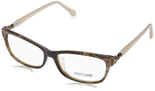 Roberto Cavalli Damen Rc5012-F 050-55-14-130 Brillengestelle, Braun, 55