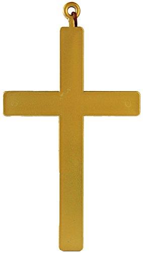 Fasching Priester Mönch Kruzifix Kreuz 23cm -