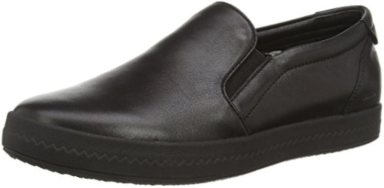 Geox Donna Modesty - Zapatos sin Cordones de Cuero Mujer