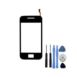 BisLinks® Schwarzer Touchscreenglas Digitizer Ersatz für Samsung Galaxy Ace S5830i