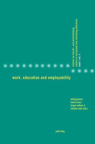 Work, Education and Employability (Studies in Vocational and Continuing Education, Band 4)