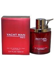 Yacht Man Red POUR HOMME par Myrurgia - 100 ml Eau de Toilette Vaporisateur