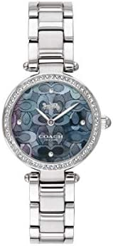 Coach Women'S Blue Mother Of Pearl Dial Stainless Steel Watch - 1450