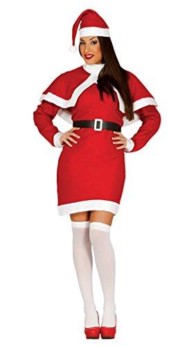 Weihnachtsmann Kostüm Mama - Guirca Kostüm Mama Weihnachtsmann Erwachsene, Größe L, rot (42693.0)