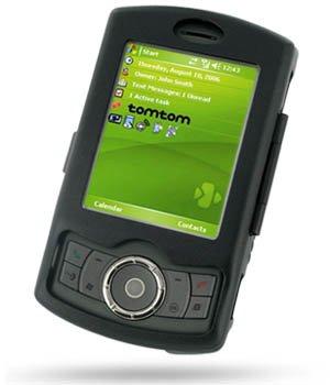 Luxus Alucase schwarz für HTC Artemis P3300