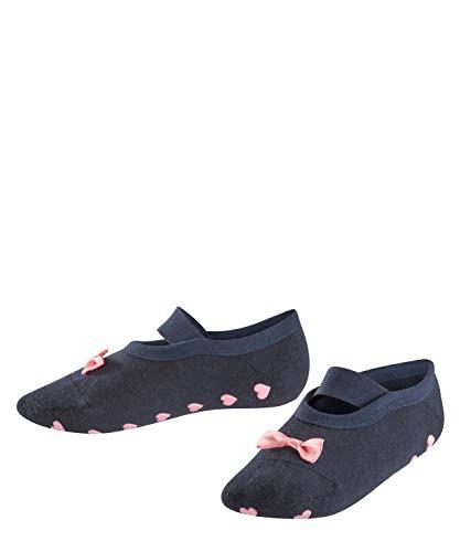 FALKE Kinder Stoppersocken Ballerina Catspads, 85% Baumwolle, 1 Paar, Blau (Marine 6120), Größe: 27-30